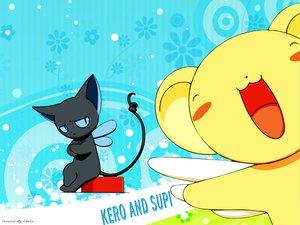 Rating: Safe Score: 6 Tags: animal card_captor_sakura cat kero suppi wings User: Oyashiro-sama