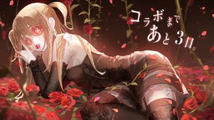 Rating: Safe Score: 40 Tags: amane_misa blonde_hair candy crossover death_note doll flowers garter_belt gothic identity_v lollipop long_hair oyuyu rose stockings thighhighs translation_request User: BattlequeenYume