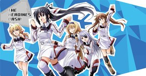 Rating: Safe Score: 31 Tags: bibi black_hair blonde_hair blue_eyes boots brown_hair cecilia_alcott charlotte_dunois dress eyepatch gray_hair green_eyes group headband huang_lingyin infinite_stratos laura_bodewig long_hair pink_eyes ponytail ribbons shinonono_houki thighhighs twintails User: RyuZU