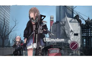 Rating: Safe Score: 116 Tags: 2girls anthropomorphism brown_hair building city girls_frontline gloves gray_eyes gun lin+ m4_sopmod_ii_(girls_frontline) pink_hair purple_eyes scarf signed st_ar-15_(girls_frontline) tree weapon User: reyaes