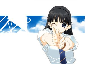 Rating: Safe Score: 11 Tags: black_hair blue_eyes nakamura_takeshi tagme tie User: 秀悟