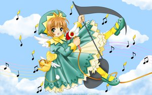 Rating: Safe Score: 19 Tags: card_captor_sakura hat kero kinomoto_sakura ribbons User: gnarf1975