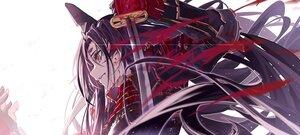 Rating: Safe Score: 29 Tags: armor blood close fate/grand_order fate_(series) katana long_hair purple_hair samurai sword ushiwakamaru_(fate/grand_order) weapon yuan_long User: Maboroshi