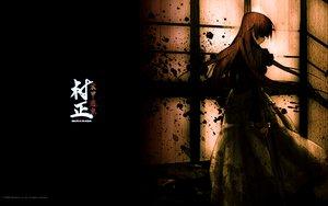 Rating: Safe Score: 45 Tags: brown_hair dress long_hair ootori_kanae soukou_akki_muramasa User: pantu