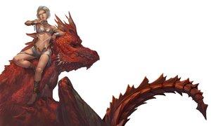Rating: Safe Score: 33 Tags: bikini collar dragon headdress necklace original senko_doki swimsuit wristwear User: FormX