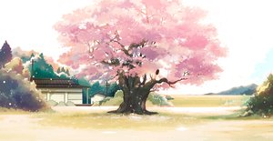Rating: Safe Score: 73 Tags: cherry_blossoms flowers hanasei original scenic User: FormX