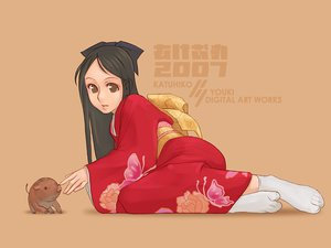 Rating: Safe Score: 1 Tags: japanese_clothes kimono tagme User: Oyashiro-sama