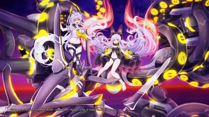 Rating: Safe Score: 34 Tags: 2girls animal_ears azur_lane boots compile_heart dress gray_hair long_hair observer_alpha_(azur_lane) panties ponytail shorts siren_(azur_lane) siren_purifier_(azur_lane) tagme_(artist) tentacles underwear water weapon yellow_eyes User: Nepcoheart