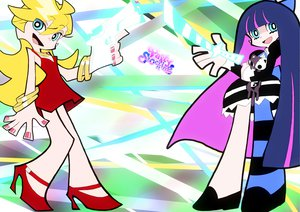 Rating: Safe Score: 39 Tags: panty_&_stocking_with_garterbelt panty_(character) stocking_(character) User: HawthorneKitty