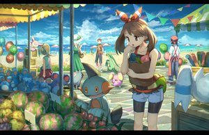 Rating: Safe Score: 28 Tags: beach grovyle haruka_(pokemon) marill marshtomp pippi_(p3i2) pokemon poochyena skitty whismur wingull yuuki_(pokemon) User: FormX