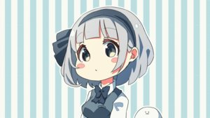 Rating: Safe Score: 40 Tags: animated blush bow fang gray_hair headband konpaku_youmu myon pegashi short_hair third-party_edit touhou User: RyuZU