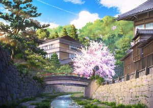 Rating: Safe Score: 81 Tags: building cherry_blossoms flowers niko_p nobody original petals scenic signed tree water User: FormX