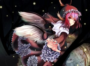 Rating: Safe Score: 78 Tags: animal_ears dress hat hinauri_(nurupon) mystia_lorelei pink_hair short_hair snow touhou wings User: C4R10Z123GT