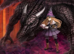 Rating: Safe Score: 30 Tags: dragon grimgrimoire lillet_blan mitsuki32k witch User: w7382001
