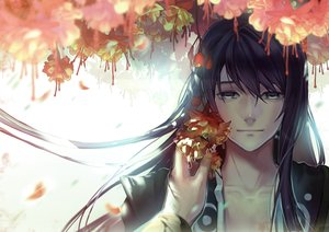 Rating: Safe Score: 52 Tags: all_male black_hair flowers gray_eyes liduke long_hair male tales_of_vesperia yuri_lowell User: mattiasc02