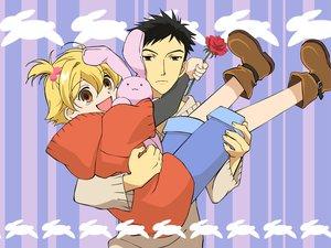 Rating: Safe Score: 1 Tags: bunny haninozuka_mitsukuni morinozuka_takashi ouran_koukou_host_club User: Oyashiro-sama