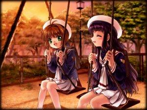 Rating: Safe Score: 12 Tags: card_captor_sakura daidouji_tomoyo kinomoto_sakura moonknives park User: 秀悟