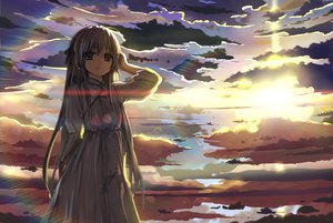 Rating: Safe Score: 144 Tags: clouds dress kasugano_sora sky stk yosuga_no_sora User: HawthorneKitty