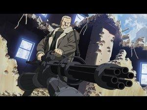 Rating: Safe Score: 46 Tags: batou ghost_in_the_shell gun weapon User: Oyashiro-sama