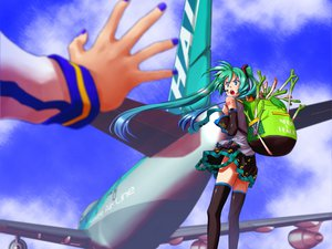 Rating: Safe Score: 31 Tags: aircraft hatsune_miku kaito leek male vocaloid User: anaraquelk2