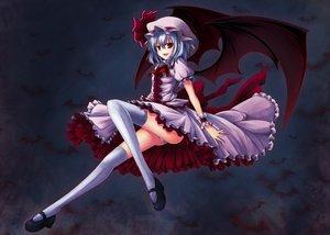 Rating: Safe Score: 87 Tags: aliasing animal bat remilia_scarlet touhou utakata_(0824) vampire User: w7382001