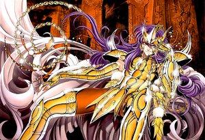 Rating: Safe Score: 12 Tags: armor long_hair orange_eyes purple_hair sacred_saga saint_seiya scorpion User: Moony