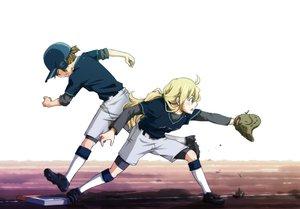 Rating: Safe Score: 34 Tags: baseball blonde_hair hirasawa_yui k-on! kotobuki_tsumugi myng sport User: PAIIS