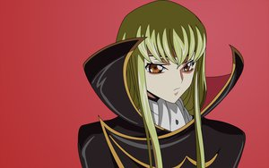Rating: Safe Score: 24 Tags: cc code_geass green_hair red vector yellow_eyes User: Seraph