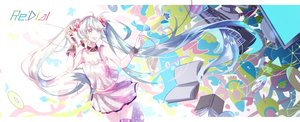 Rating: Safe Score: 17 Tags: arancione hatsune_miku redial_(vocaloid) vocaloid User: FormX