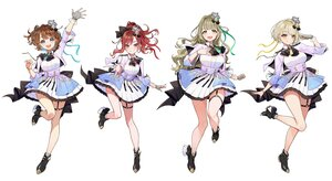 Rating: Safe Score: 61 Tags: blonde_hair blue_eyes boots bow breast_hold brown_eyes brown_hair cat_smile crown garter gloves group kaname_mahiro long_hair marinasu_(kari) otonoha_naho ponytail red_eyes red_hair ribbons short_hair skirt suzuna_subaru touma_rin uniform white wristwear yellow_eyes yuu_(higashi_no_penguin) User: otaku_emmy