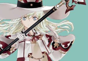 Rating: Safe Score: 44 Tags: anthropomorphism blonde_hair cosplay final_fantasy gloves gray_eyes hat kantai_collection long_hair ro-500_(kancolle) ruisento spear u-511_(kancolle) weapon User: FormX