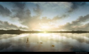 Rating: Safe Score: 28 Tags: clouds kijineko original reflection scenic sky water watermark User: RyuZU