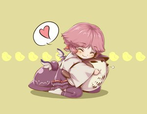 Rating: Safe Score: 48 Tags: animal animal_ears bird chibi mystia_lorelei pink_hair shiba_itsuki short_hair touhou User: PAIIS