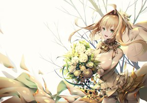 Rating: Safe Score: 48 Tags: fate/grand_order fate_(series) jizero jpeg_artifacts nero_claudius_(bride) nero_claudius_(fate) User: sadodere-chan