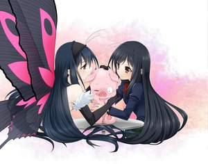 Rating: Safe Score: 105 Tags: accel_world arita_haruyuki black_hair blush brown_eyes butterfly elbow_gloves izumi_kikaku kuro_yuki_hime seifuku wings wink User: Dust