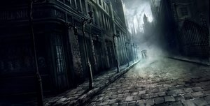 Rating: Safe Score: 160 Tags: animal apple228 building city dark gothic horse original scenic User: Flandre93
