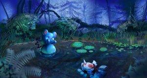 Rating: Safe Score: 16 Tags: azurill drawfag goldeen grass pokemon scenic water User: RyuZU