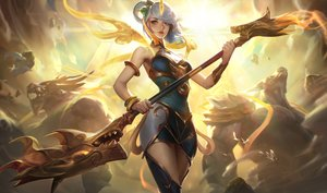 Rating: Safe Score: 107 Tags: crowgod league_of_legends luxanna_crownguard User: ssagwp