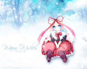 Rating: Safe Score: 32 Tags: medicine_melancholy snow touhou winter User: Oyashiro-sama