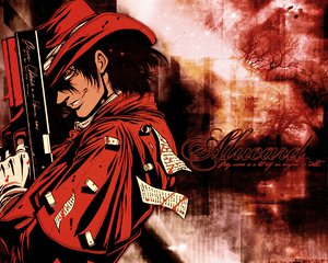 Rating: Safe Score: 14 Tags: alucard gun hat hellsing red_eyes weapon User: happygestapo