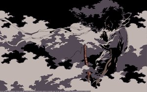 Rating: Safe Score: 10 Tags: afro_samurai vector User: connardman