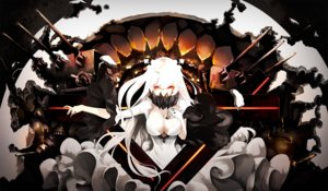 Rating: Safe Score: 160 Tags: akakitsu anthropomorphism kantai_collection midway_hime User: FormX