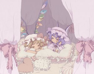 Rating: Safe Score: 26 Tags: bed chibi flandre_scarlet remilia_scarlet scan touhou User: Xtea