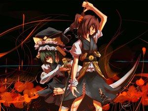 Rating: Safe Score: 44 Tags: onozuka_komachi scythe shikieiki_yamaxanadu touhou weapon User: Oyashiro-sama