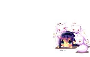 Rating: Safe Score: 82 Tags: akemi_homura blush cat_smile chibi hina_hina kyuubee long_hair mahou_shoujo_madoka_magica purple_eyes purple_hair red_eyes white User: SciFi