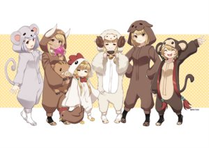 Rating: Safe Score: 18 Tags: andira_(granblue_fantasy) anila_(granblue_fantasy) animal_ears bell brown_eyes brown_hair cat_smile dark_skin granblue_fantasy gray_hair group hoodie horns kuvira_(granblue_fantasy) loli mahira_(granblue_fantasy) pajamas rktsm short_hair signed tagme_(character) tail twintails vajra_(granblue_fantasy) User: RyuZU