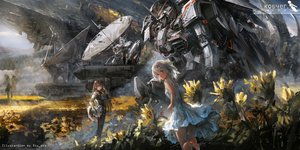 Rating: Safe Score: 125 Tags: 2girls mecha mobile_suit_gundam original stu_dts watermark User: RyuZU