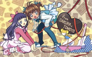 Rating: Safe Score: 3 Tags: card_captor_sakura clamp daidouji_tomoyo kero kinomoto_sakura scan User: RyuZU