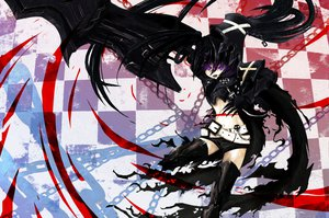Rating: Safe Score: 64 Tags: armor auer black_rock_shooter chain insane_black_rock_shooter weapon User: HawthorneKitty