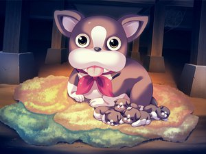 Rating: Safe Score: 3 Tags: animal dog game_cg harukazedori_ni_tomarigi_wo_2nd_story User: korokun